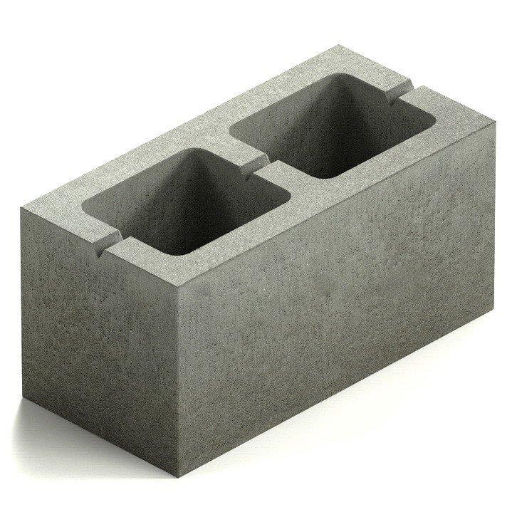 бетонный блок фото